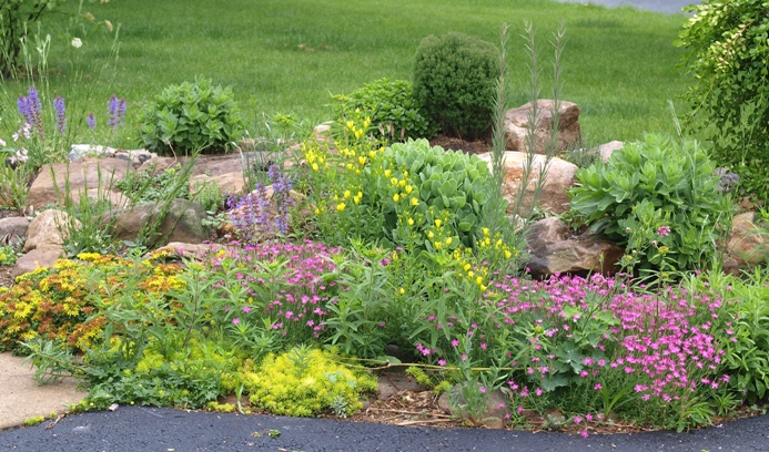 Garden Design Garden Design with How to Make a Rock GardenDIY