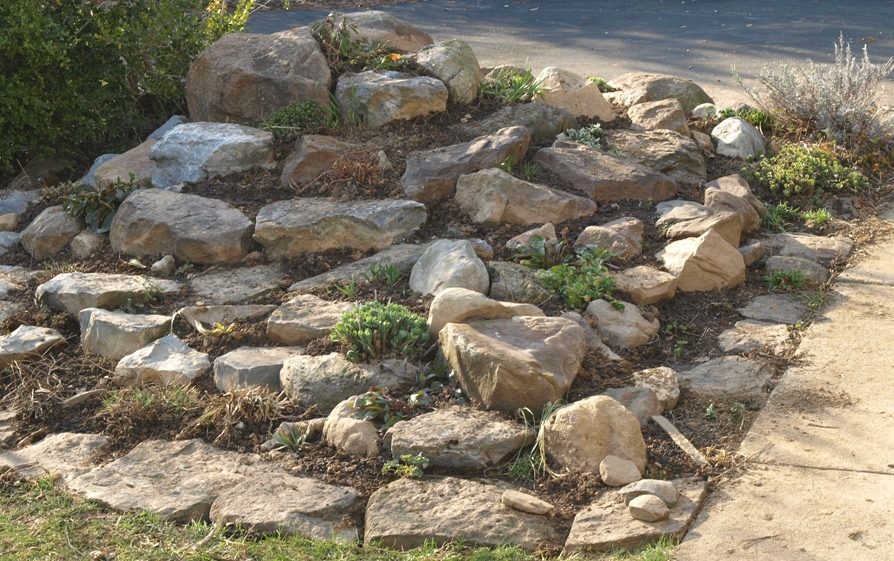 Overhauling The Rock Garden A Spring Project